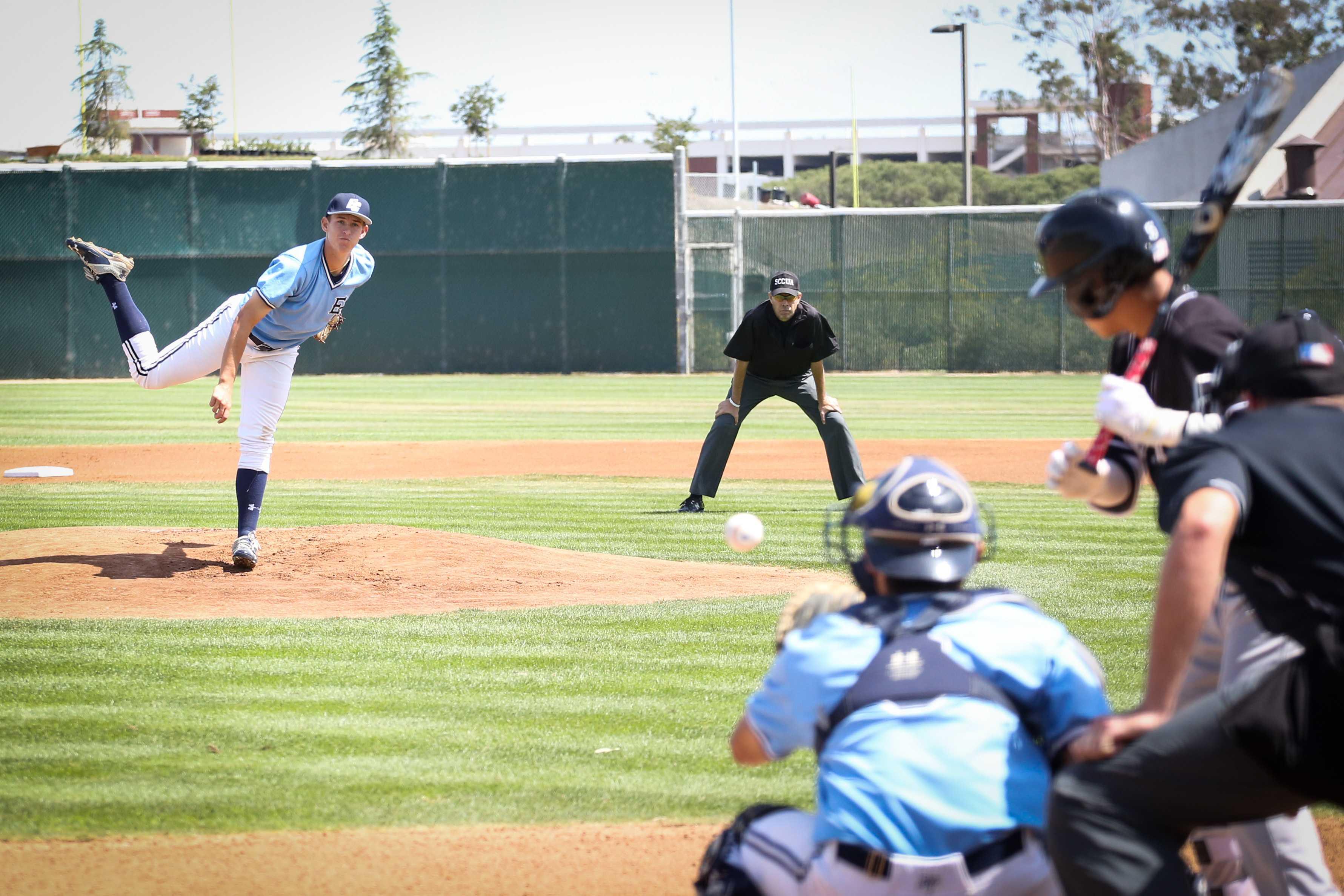 Baseball team falls to Long Beach City College in last game of regular season