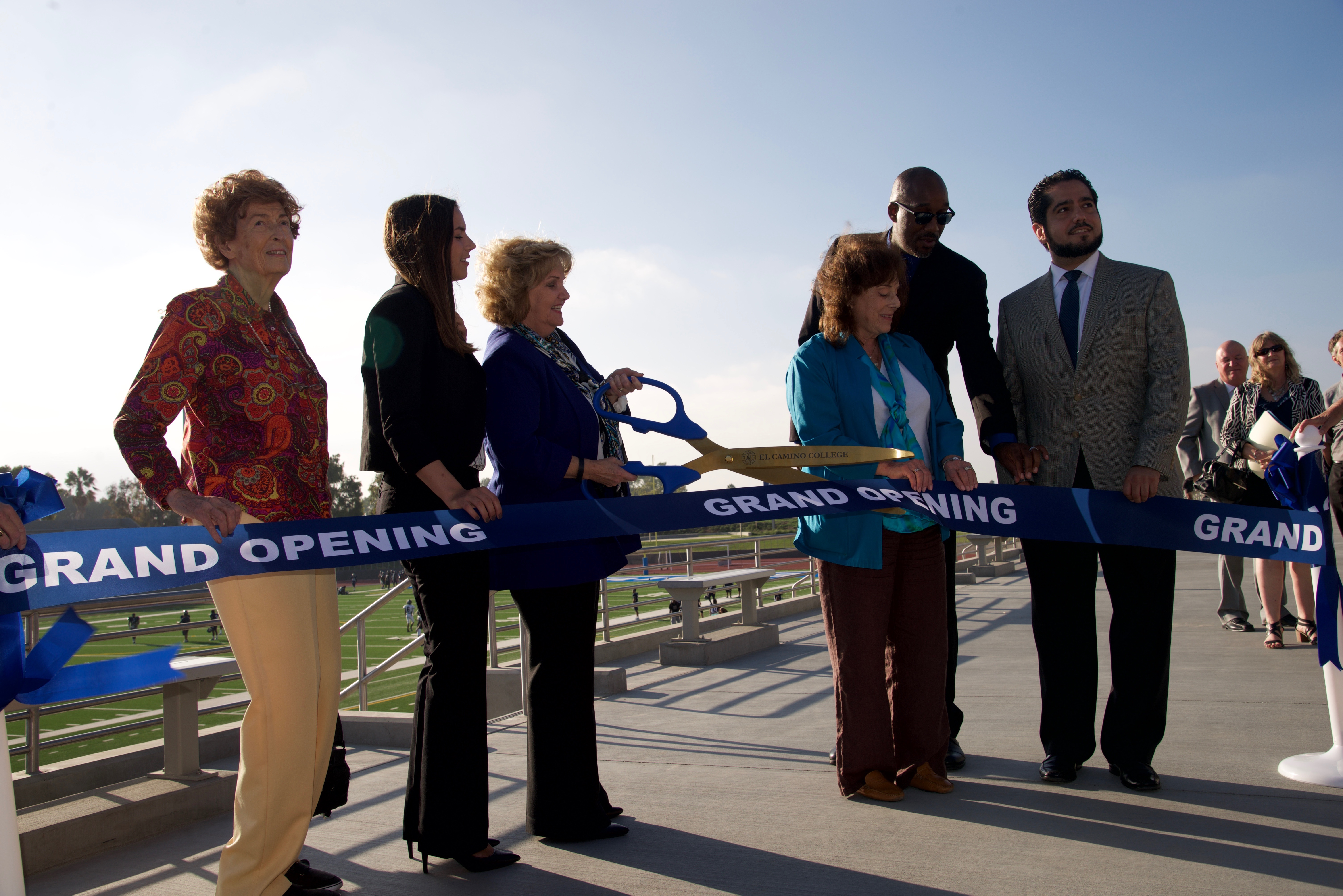 El Camino College celebrated the grand opening of the new Athletic Complex and Murdock Stadium