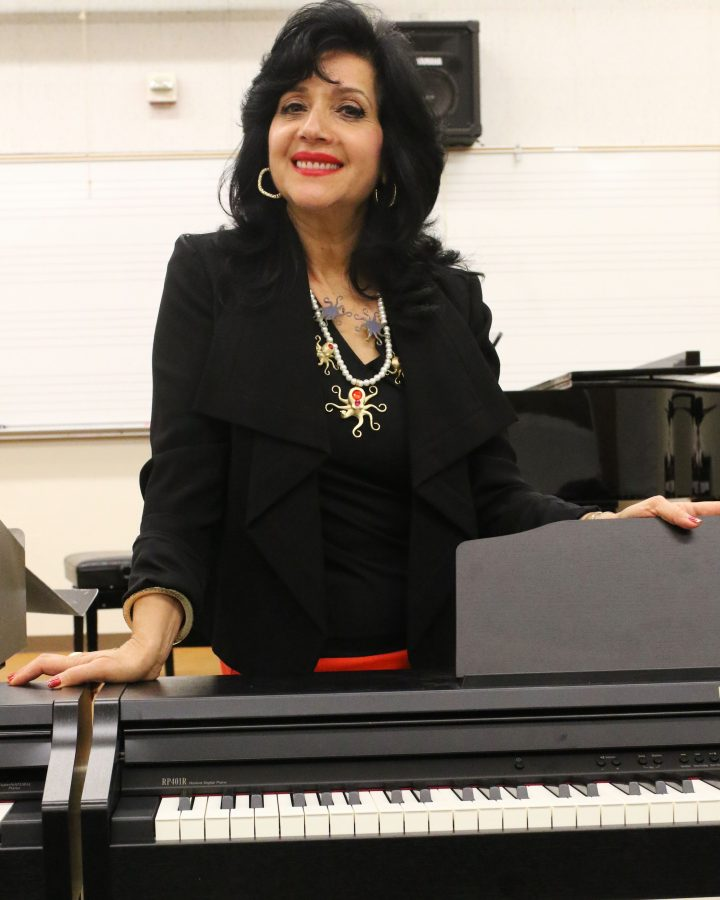 Dr. Joanna Nachef is the newly elected interim dean for the Fine Arts Department for Fall 2016. Nachef has received multiple prestigious awards and debuted as the first ever female conductor in the Arab region.