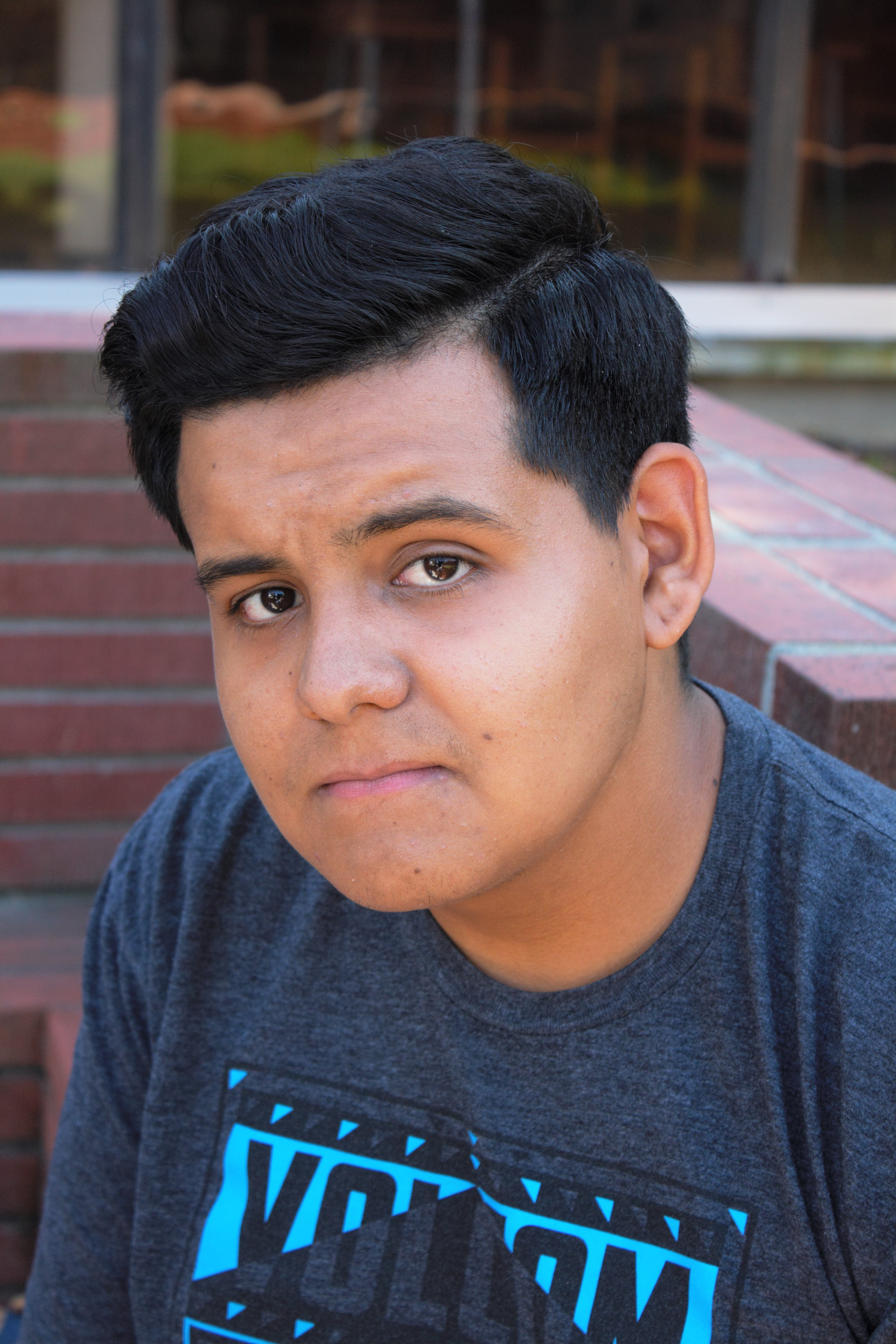Ricardo Sandoval, 19, Engineering Major, tells us his inspirations, accomplishments, regrets, and plans in this series of People of El Camino on Wednesday Oct. 5. Photo credit: Alain Miranda