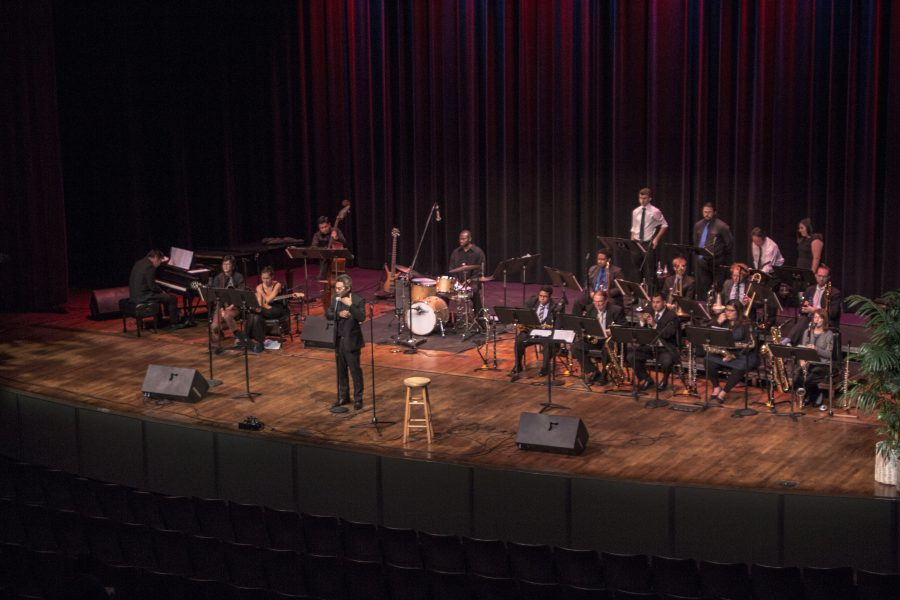 Concert+Jazz+Band+performed+their+latest+concert+titled+%22Swing+%26+Spain%22+in+the+Marsee+Auditorium+on+Friday%2C+Dec.+2.+Photo+credit%3A+Elijah+Hicks