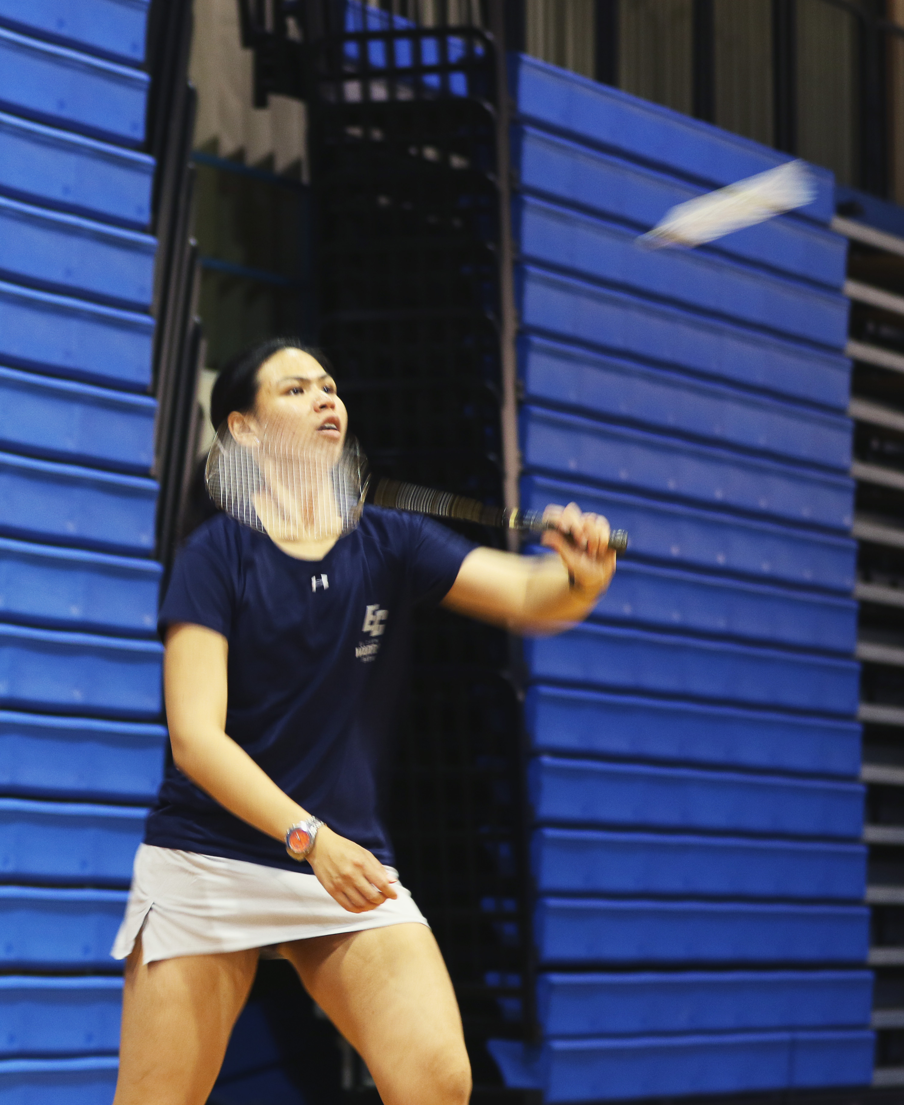 El Camino women's badminton team beat El Camino-Compton Center to sweep the season series