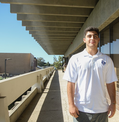 FILE Photo: Eman Dalili was voted in as the Associated Student Government president during the 2016 spring semester. Recently, there was a vote to impeach Dalili, which ended in his continued term as El Camino's ASO president. Photo credit: Jorge Villa