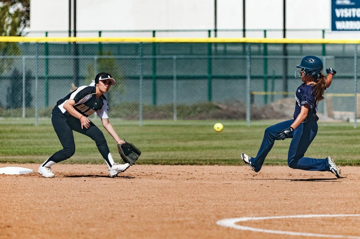 Freshman+catcher+Ashley+Machado+slides+into+second+base+against+Rio+Hondo+College+on+Tuesday%2C+April+4+at+the+EC+softball+field.+Photo+credit%3A+Osvaldo+Deras