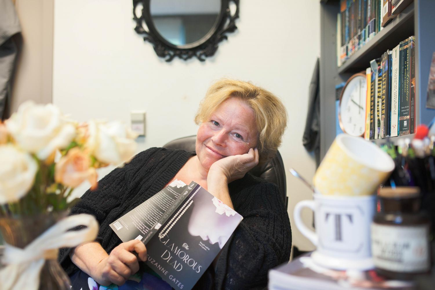 English professor prepares to debut her first novel
