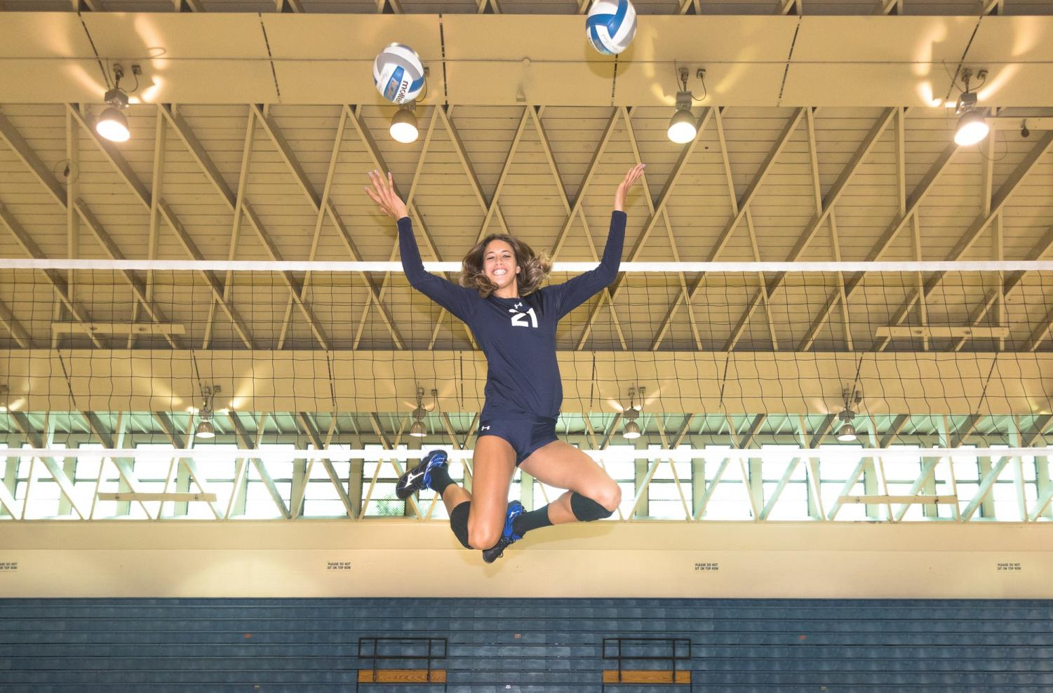 El Camino volleyball player becomes a leader