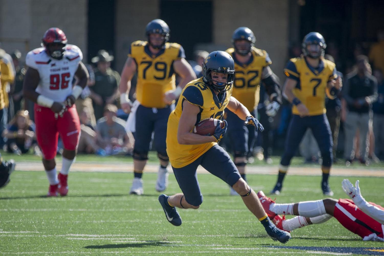 Photo courtesy of West Virigina Athletic Communications Photo credit: Dan Friend