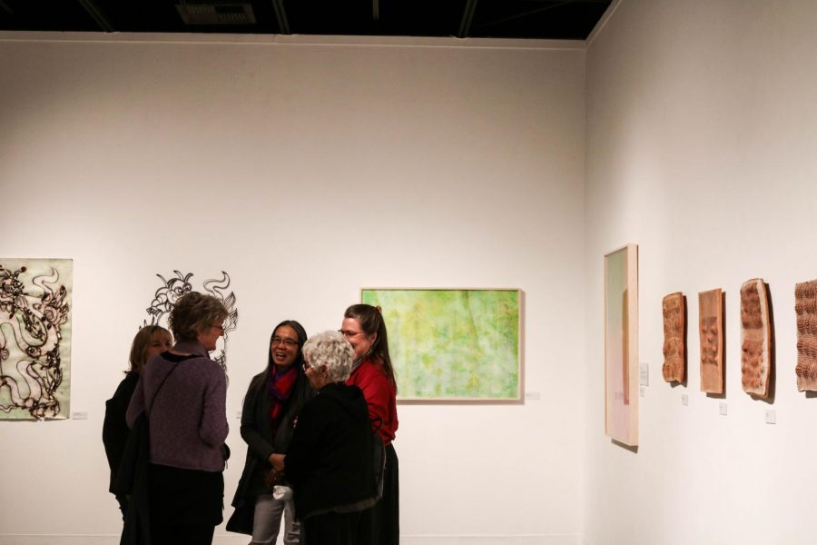 The EC Art Gallery hosted an artist reception on Thursday, Feb. 22.
