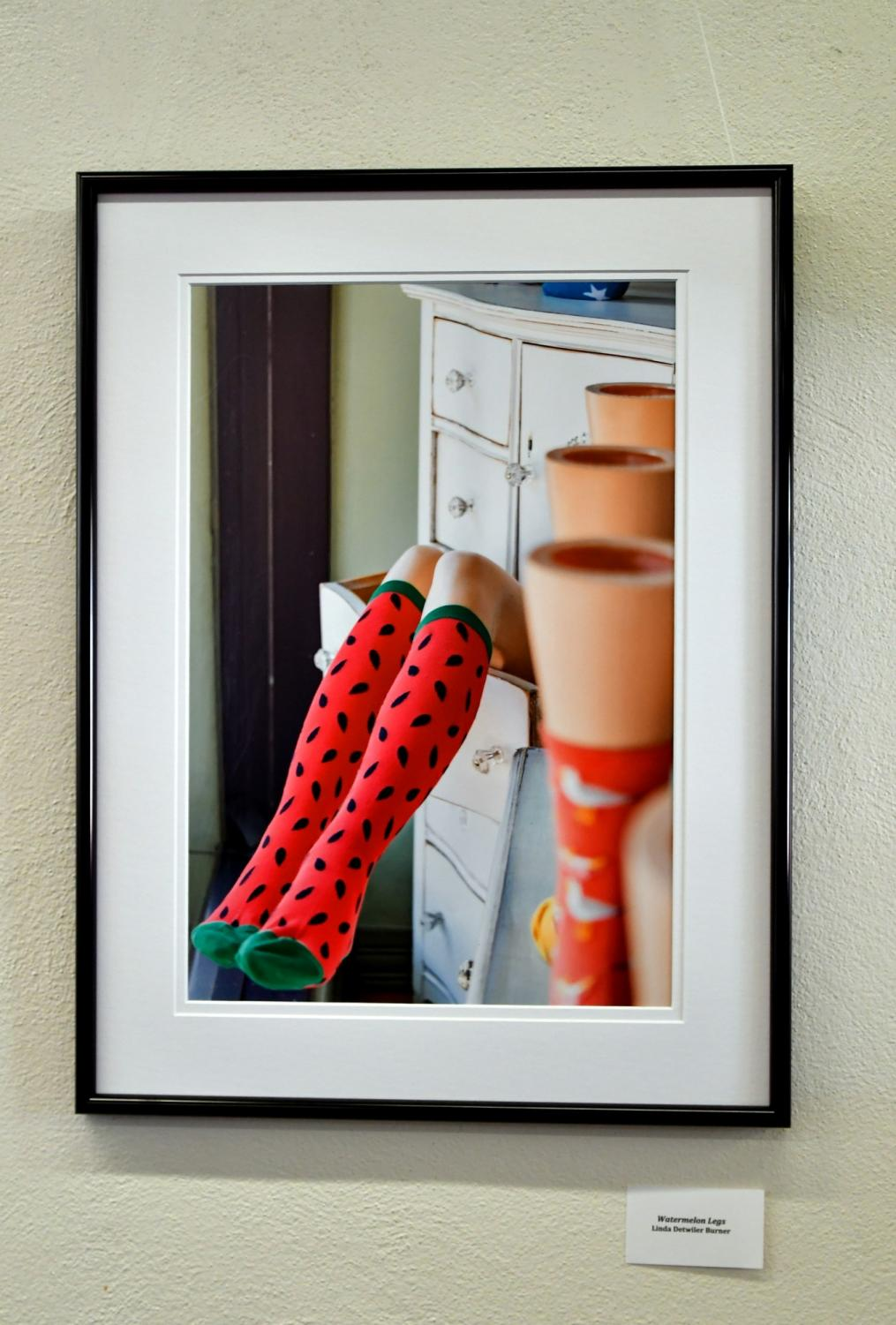 """Watermelon Legs"" was shot by Linda Detwiler Burner, who is the curator and has been the club president of the South Bay Camera Club for the past two years. Photo credit: Jack Kan"