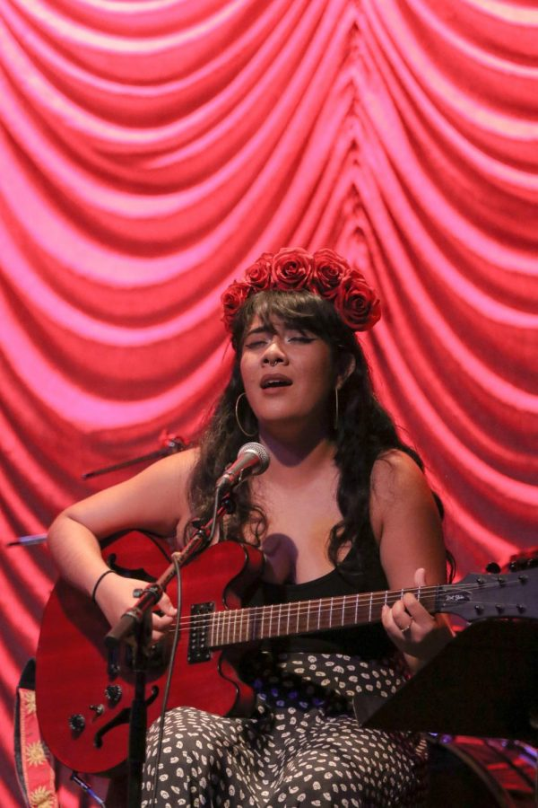 Jazz music student who is a singer/songwriter talks about her feelings on creating music and success in the industry