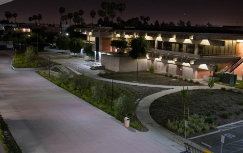 Photo essay: the El Camino College campus at night