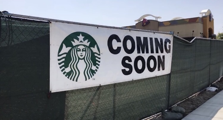 The location is set to open on the corner of Crenshaw Boulevard and 146th St. Photo credit: Zach Hatakeyama