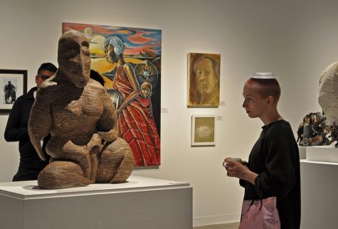 Annual Faculty Art Show features artwork from 25 different faculty artists