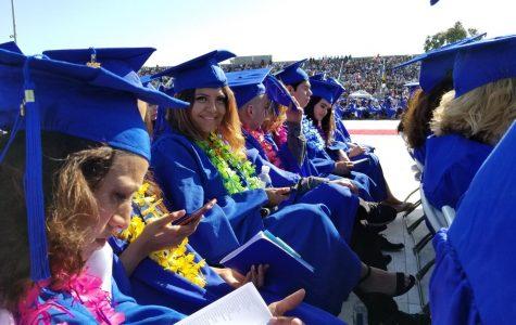 El Camino College students graduate
