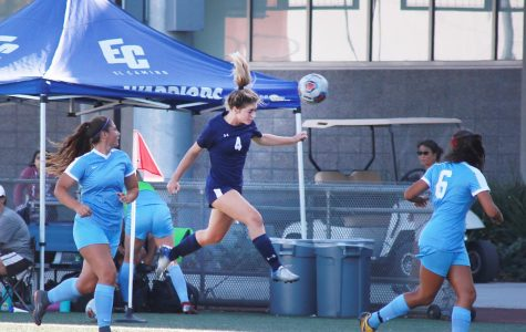 ECC women's soccer team scores first win of the season