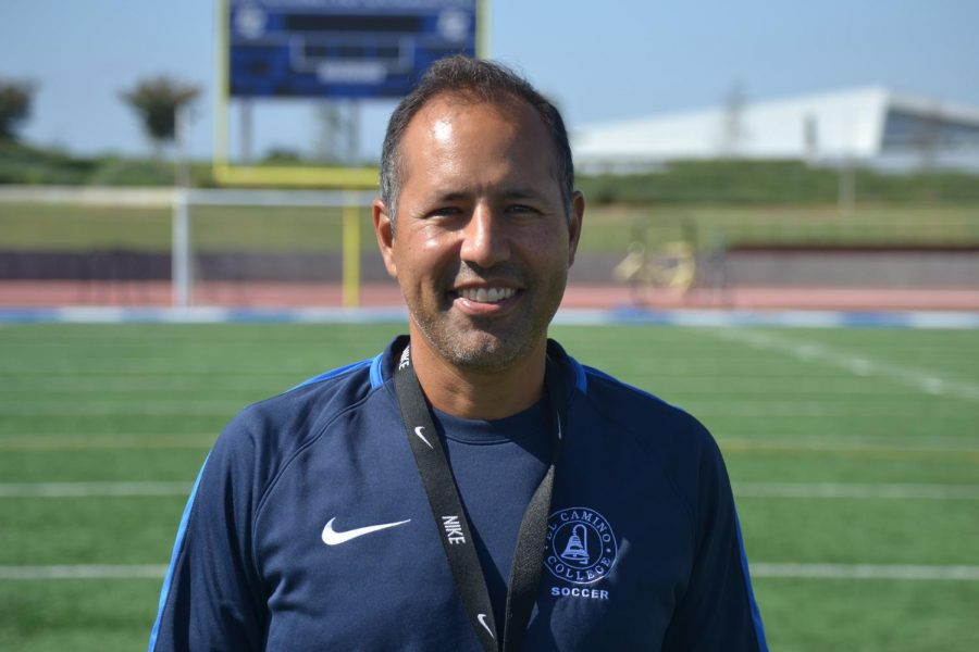 New Head Coach Michael Jacobson has high hopes for his squad coming into the new season. Photo credit: Fernando Haro
