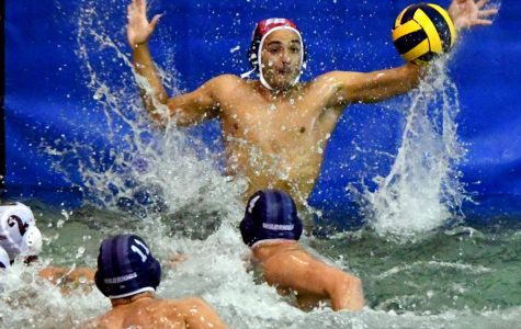 EC men's water polo plays catch-up with Chaffey College at home