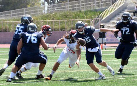 Football team wins fourth straight over San Diego Mesa