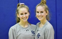 Twin sisters are 'double trouble' for EC volleyball team