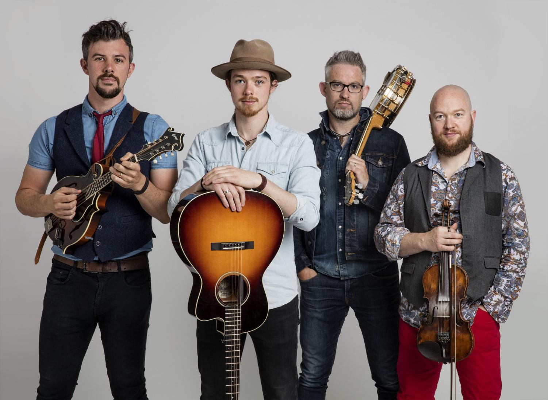 We Banjo 3, an Irish bluegrass band bringing mental health awareness through their music. Lead singer David Howley said,