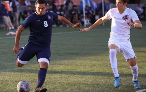 Men's soccer team score three goals in win over Chaffey College