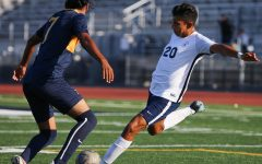 Men's soccer team shut out on the road