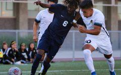 Men's soccer team lose tough home game
