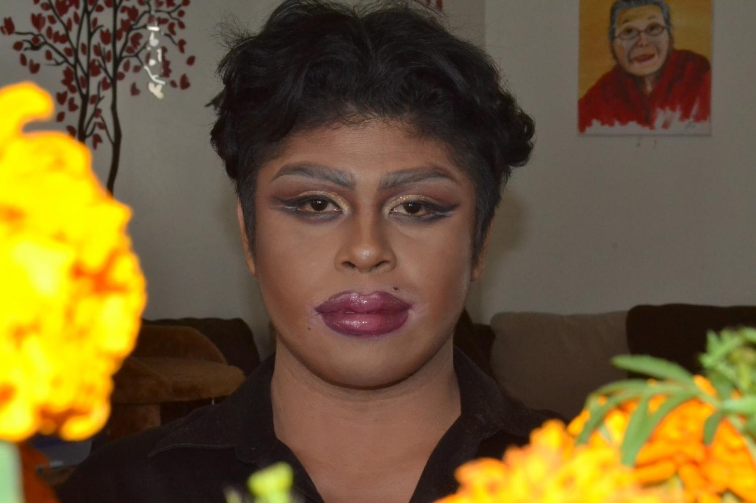 Reysand Benasfre balances school and his love for makeup while living a double life as his drag persona