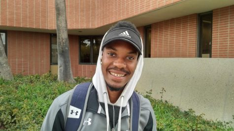 Qwintin Workman. Sprinter, hurdler and jumper for El Camino College's Track and Field team