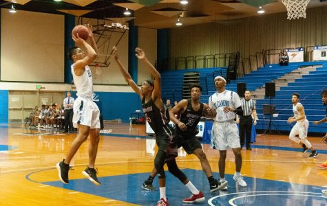 Men's basketball team drop final game of the season to Compton College