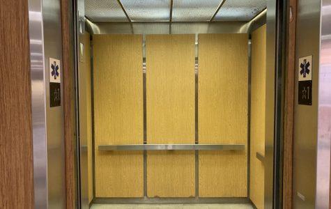 Swastika discovered inside Art Building elevator