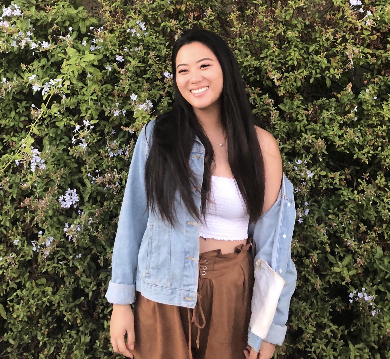 Elaine Kim, 19, international studies major. photo credit: Alexa Kinoshita