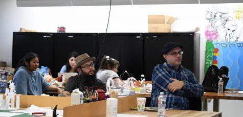 Action Figure Design class at Otis