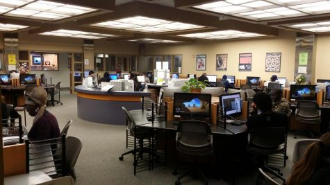Open Computer Lab at the Schauerman Library Basement