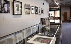 46 photographs by students and alumni displayed at library