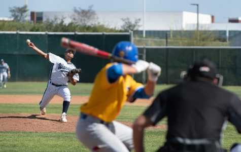 6 photos from Warriors baseball team's comeback win against LA Harbor
