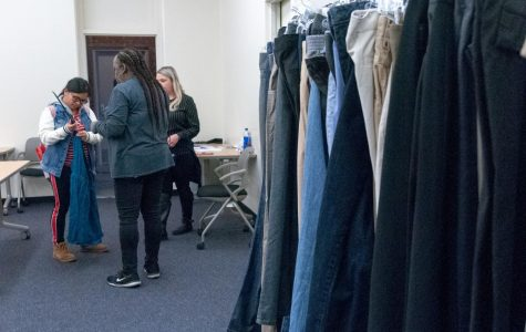 Students provided with clothes through Warrior Closet donations