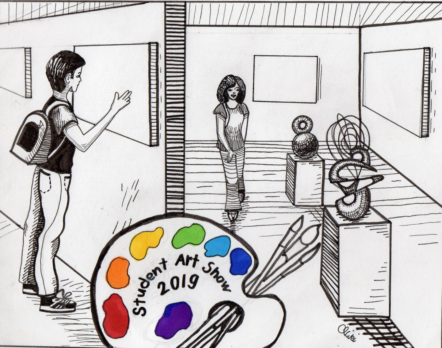 The Student Art Show begins on Monday, May 13 to Thursday, May 30 at El Camino College Art Gallery. The illustration will not be a part of the showcase. Photo credit: Nicoleene Yunker