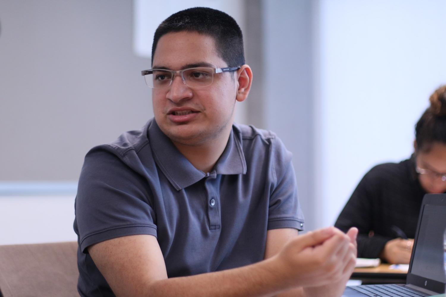 Michael Murillo, 20, was diagnosed with autism spectrum disorder, a learning disability ,and ADHD at the age of 3. Murillo is one of the tens of thousands of adults in America with ASD pursuing a post-secondary education. Photo credit: Rosemary Montalvo