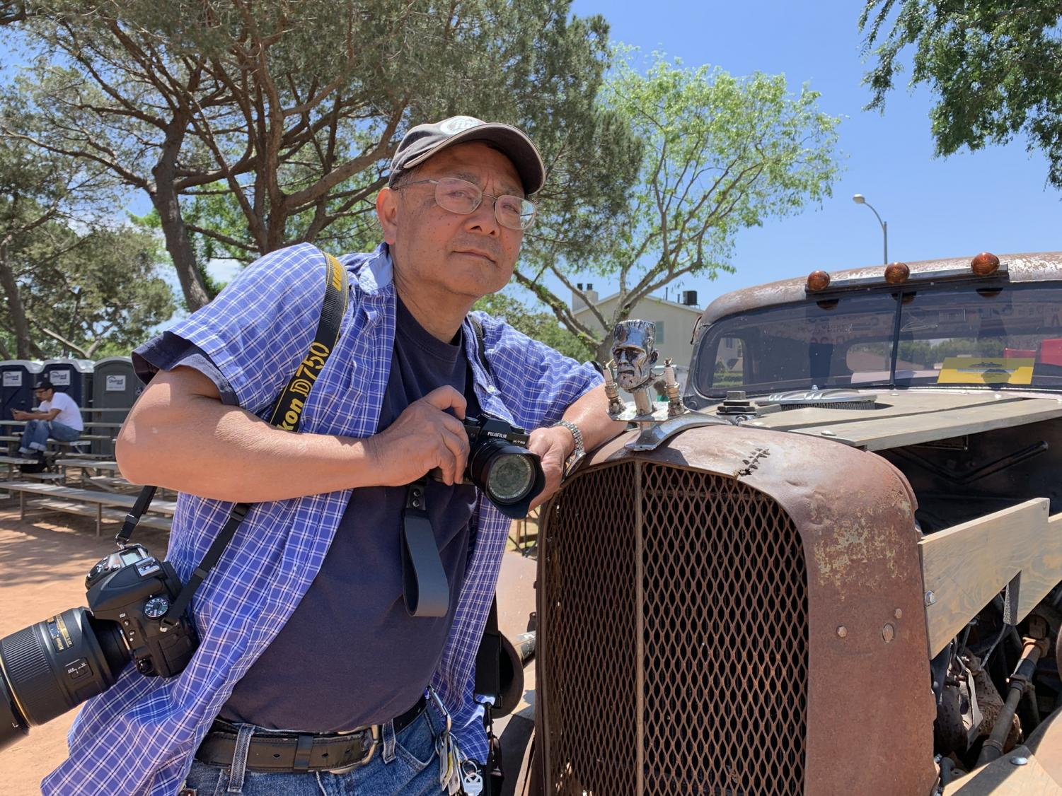 Photojournalism instructor Gary Kohatsu has been a part of the journalism department at El Camino College as both a student and instructor for a period spanding over 30 years, and has been quietly preparing to transition out as he officially will be retiring in June. Photo credit: Jose Tobar