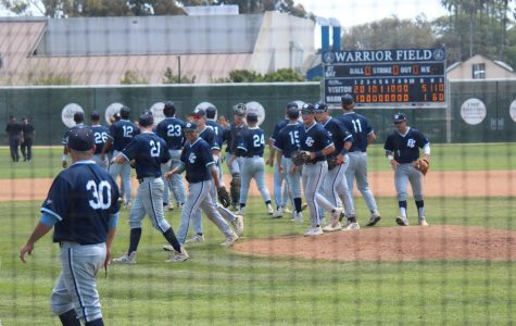 Warriors baseball completes first-round sweep of Pasadena City