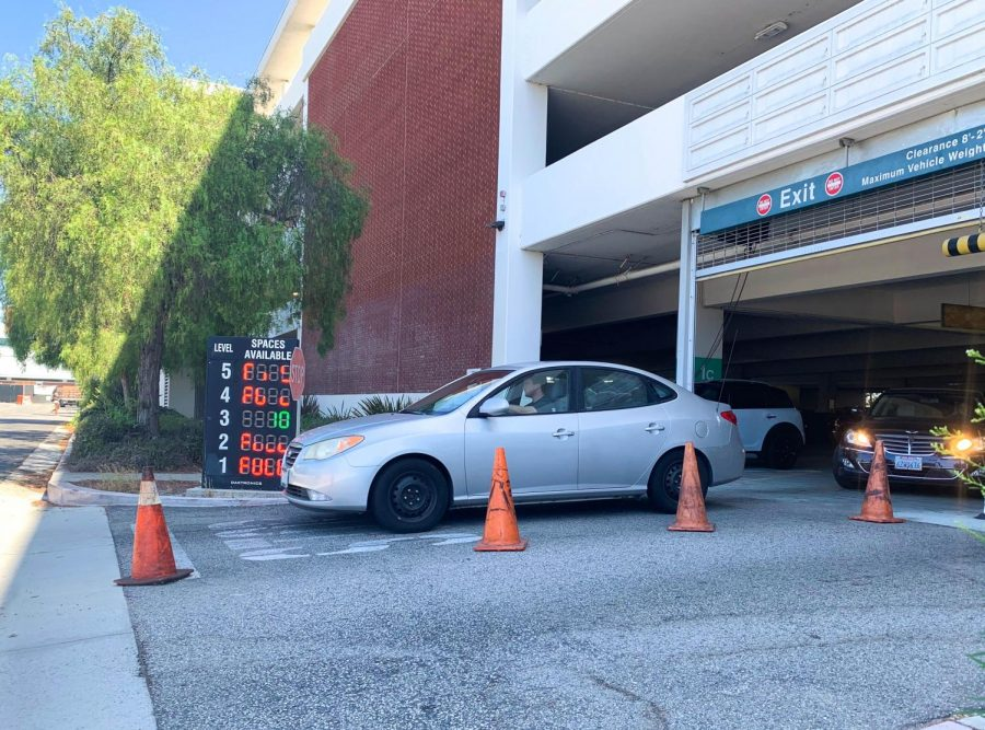 Parking lots around El Camino College fill up on August 19, the first day of the fall 2019 semester. Parking will not require a fee or permit for the first two weeks of classes. Rosemary Montalvo / The Union