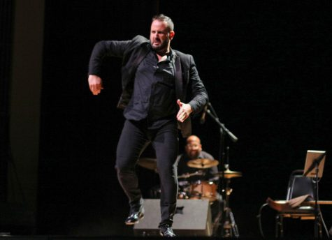 Manuel Gutierrez dances flamenco toward the end of Seffarine