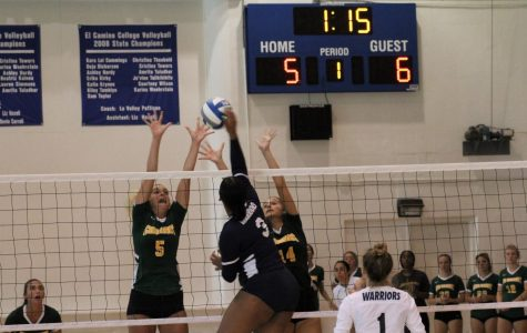 Women's volleyball team lose second game of ECC three-way tournament 3-1