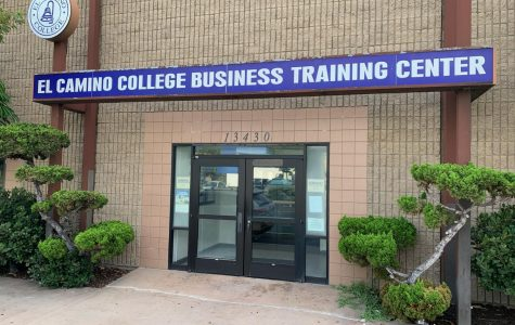 The El Camino College Business Training Center sits on Hawthorne Boulevard Wednesday, Sept. 25. The Business Training Center is home to the Small Business Development Center, a business program. Fernando Haro/The Union