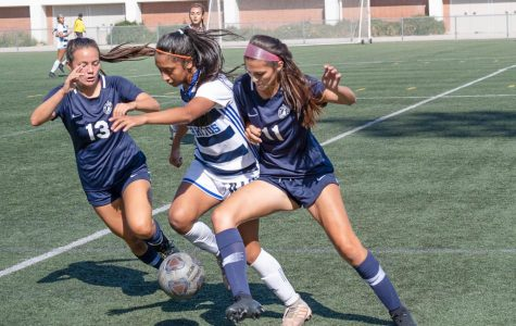 Cerritos College defeats ECC women's soccer team for first loss in three weeks