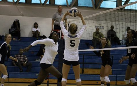 ECC women's volleyball team extends win streak after win against Mt. SAC