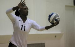 ECC women's volleyball team atop conference standings