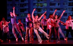 Dancers perform a piece called