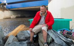 Heavy rain and cold temperatures impact homeless residents